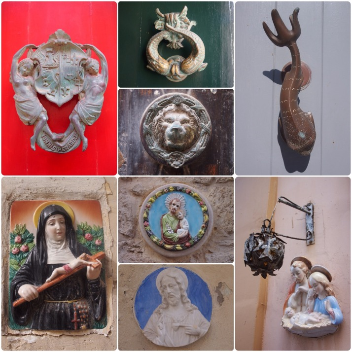 Door knockers and icon plaques