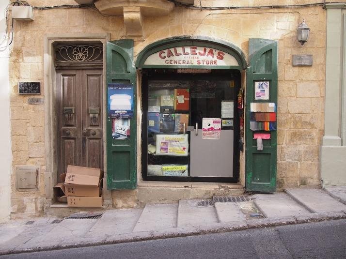 Valletta shopfront