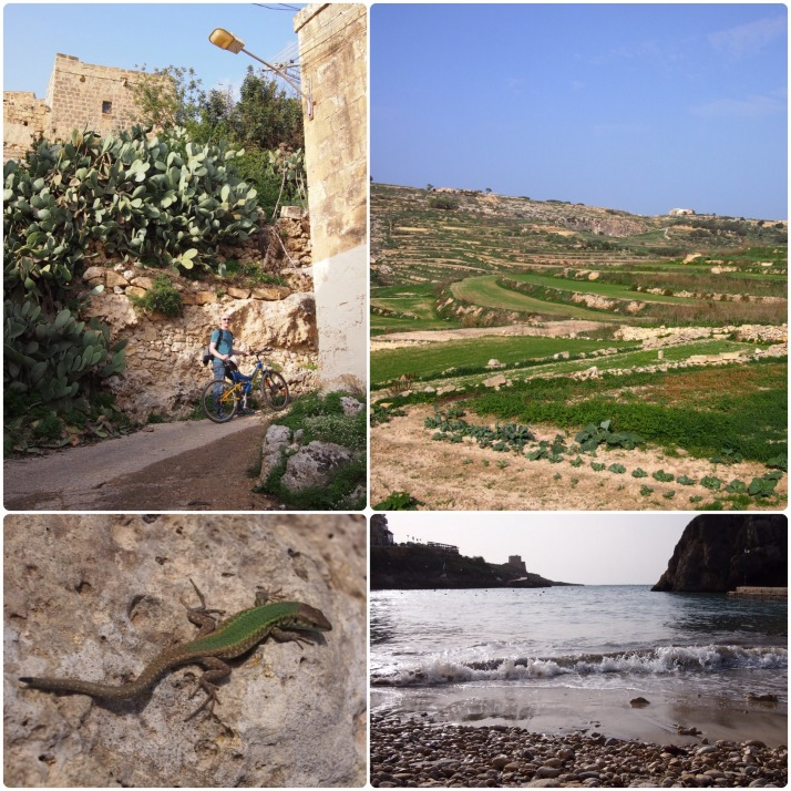 Cycling around Gozo