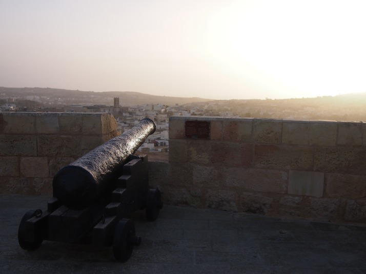 Cannon on the city walls