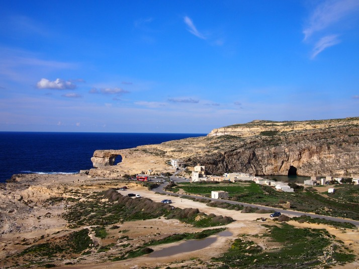 Azure Window and Inland Sea