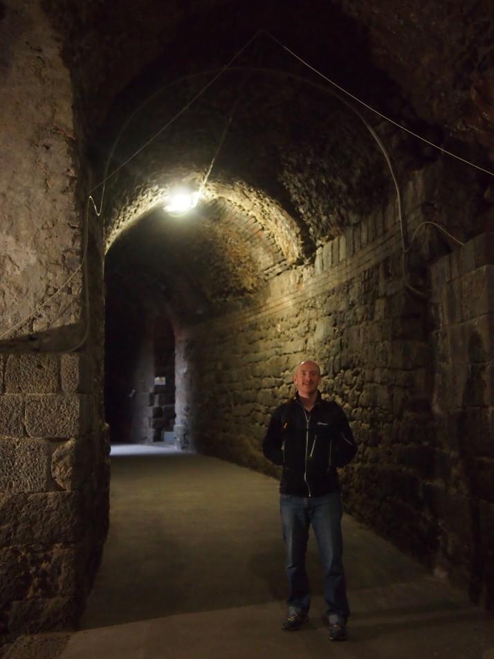 Teatro Romano walkway