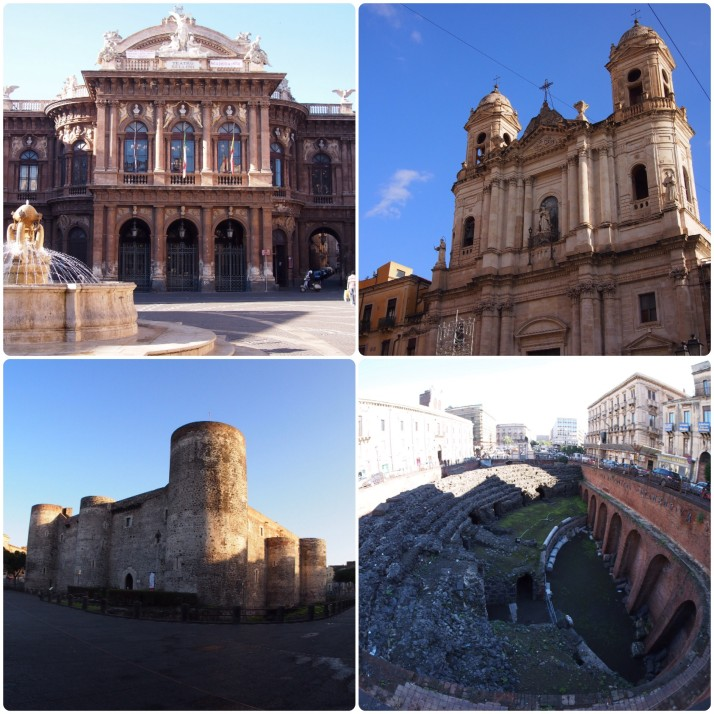 Historic structures of Catania