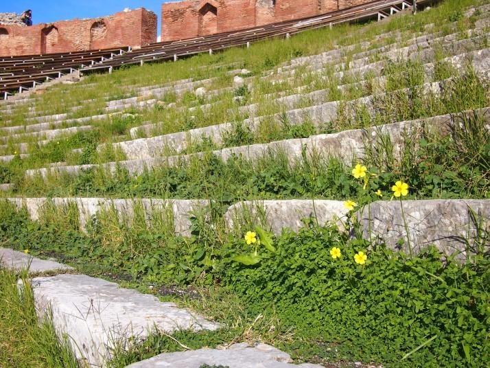 Teatro Antico seats