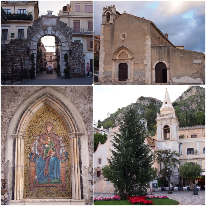 Taormina buildings