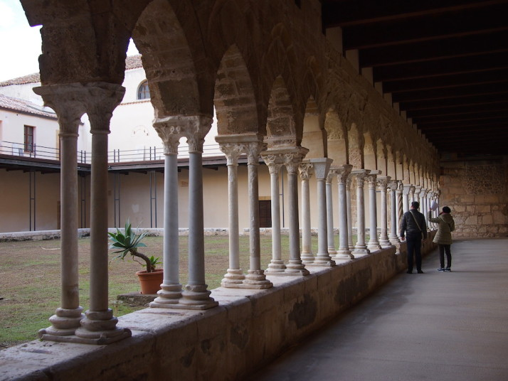 The Cefalù Cathedral Cloisters, Sicily