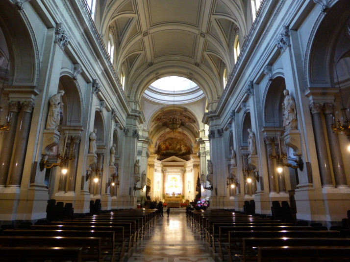 Inside Palermo Cathedral, Sicily
