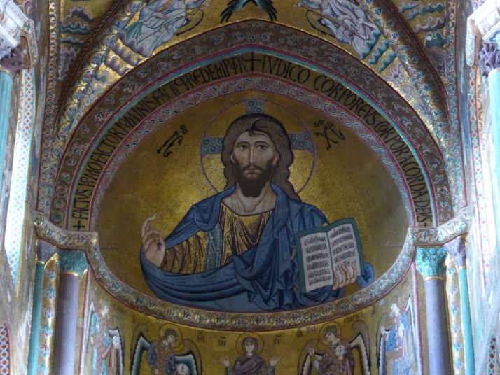 Christ Pantocrator, Chefalù Cathedral, Sicily