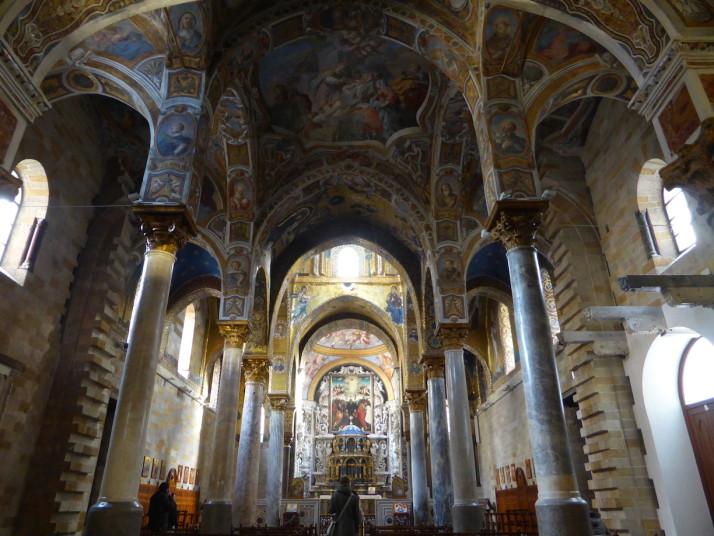 Inside the Martorana, Palermo, Sicily