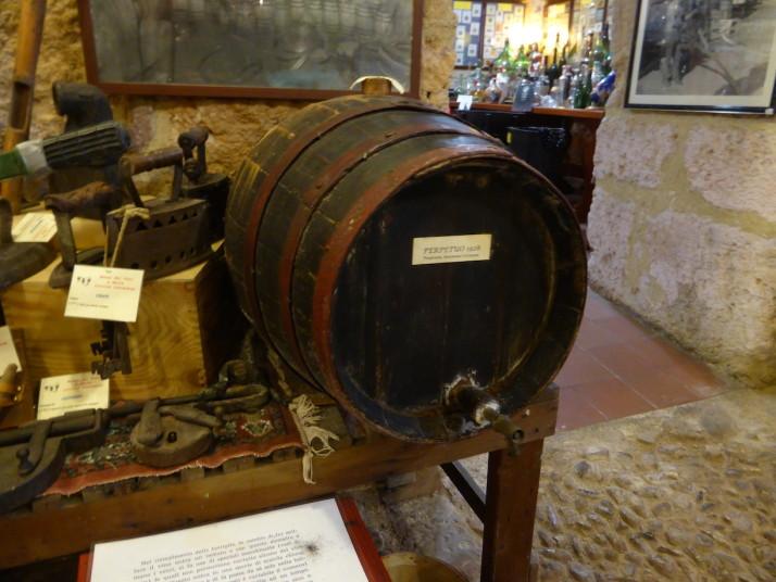 Barrel of Perpetuo, 1928, Enoteca Silicia - Wine Museum, Palermo, Sicily