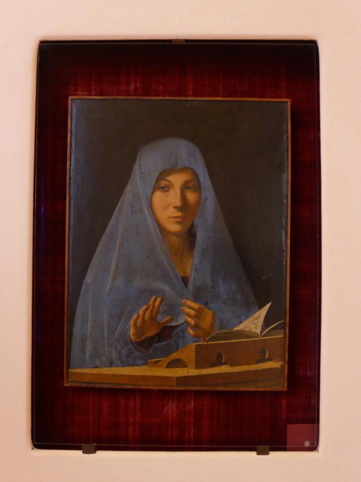 Annunciata by Antonella da Messina, Palermo, Sicily