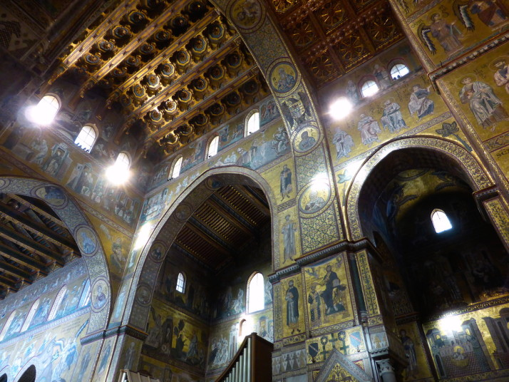 The rest of the apse, Monreale Cathedral, Sicily
