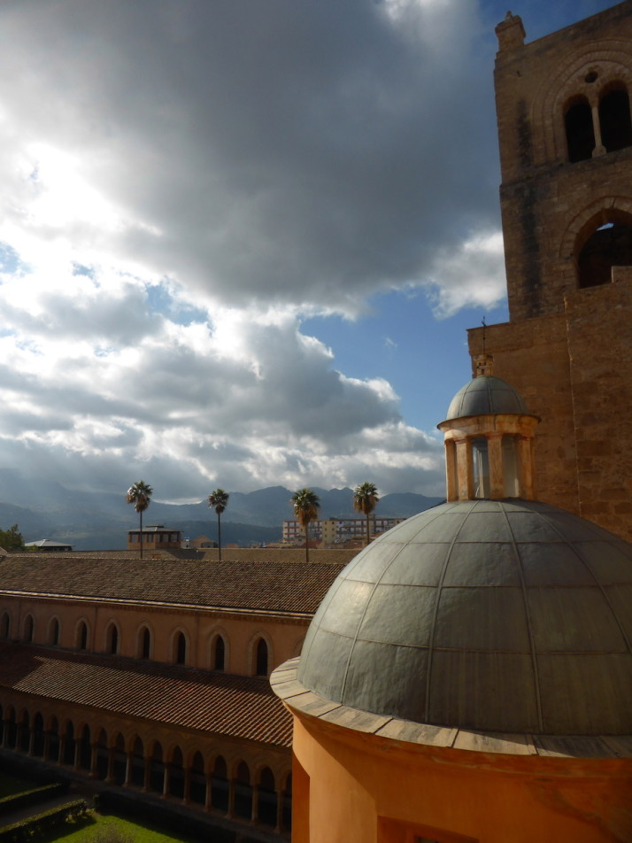 View from the roof of Monreale Cathedral, Sicily