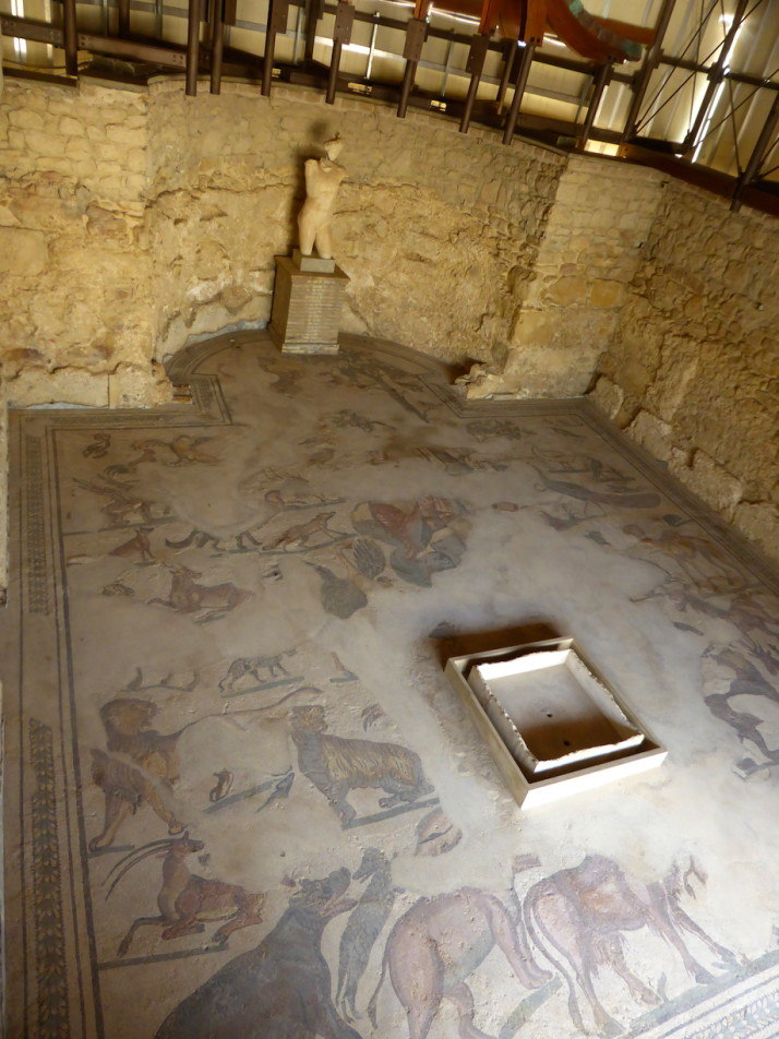 Diaeta of Orpheus, Villa Romana de Casale, Sicily