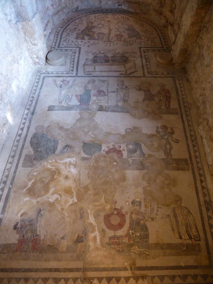 Apsidal hall, Villa Romana de Casale, Sicily