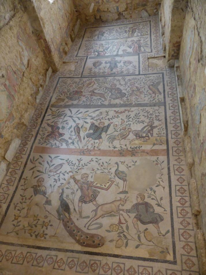 Cubiculum with alcove, Villa Romana de Casale, Sicily