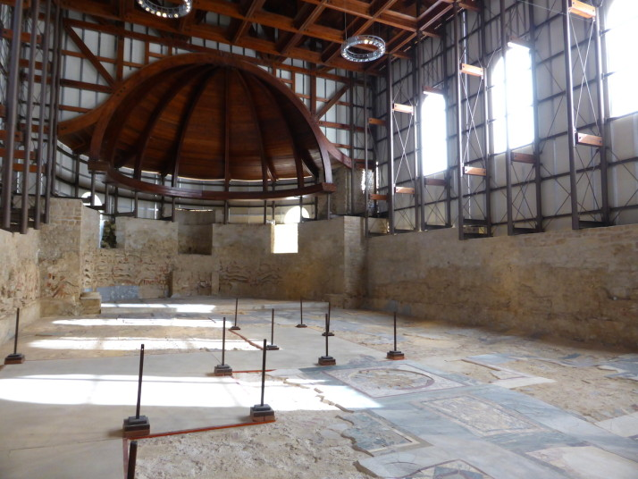 Basilica, Villa Romana de Casale, Sicily