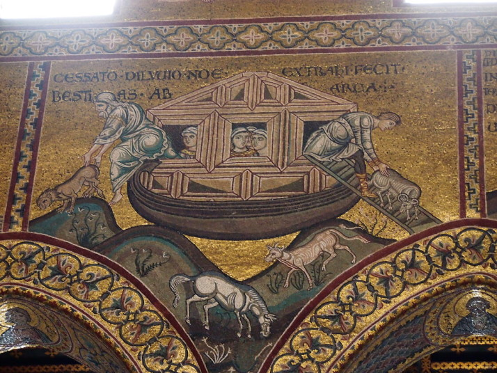 Unloading the Ark, Monreale Cathedral, Sicily