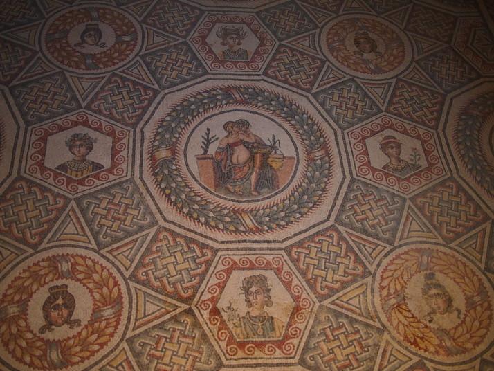 Masters bedroom, Villa Romana de Casale, Sicily