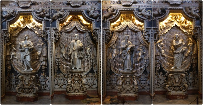 Statues of the Prophets, Chapel of the Cross, Monreale Cathedral, Sicily