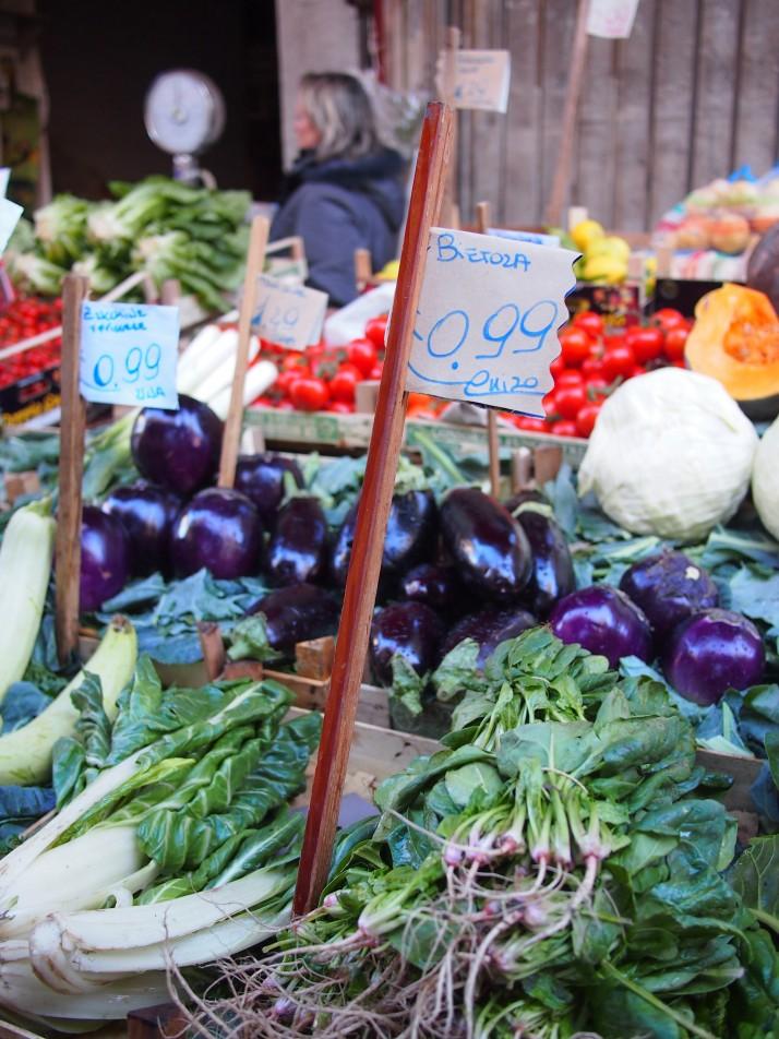 Vegetable stall, Mercato il Capo, Palermo