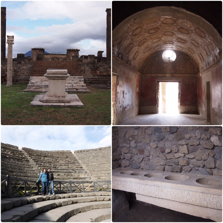 Public buildings, Pompeii
