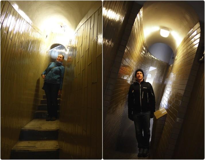 Climbing St Peters Steps, Vatican City