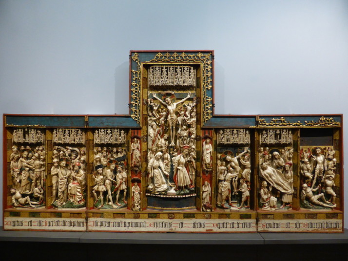 Triptych with scenes from the Passion, Museo Nazionale di Capodimonte, Naples, Italy