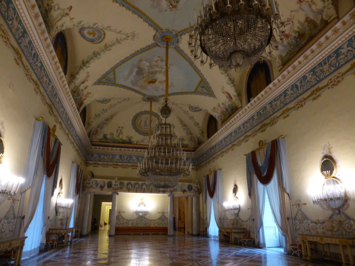 Royal rooms, Museo Nazionale di Capodimonte, Naples, Italy