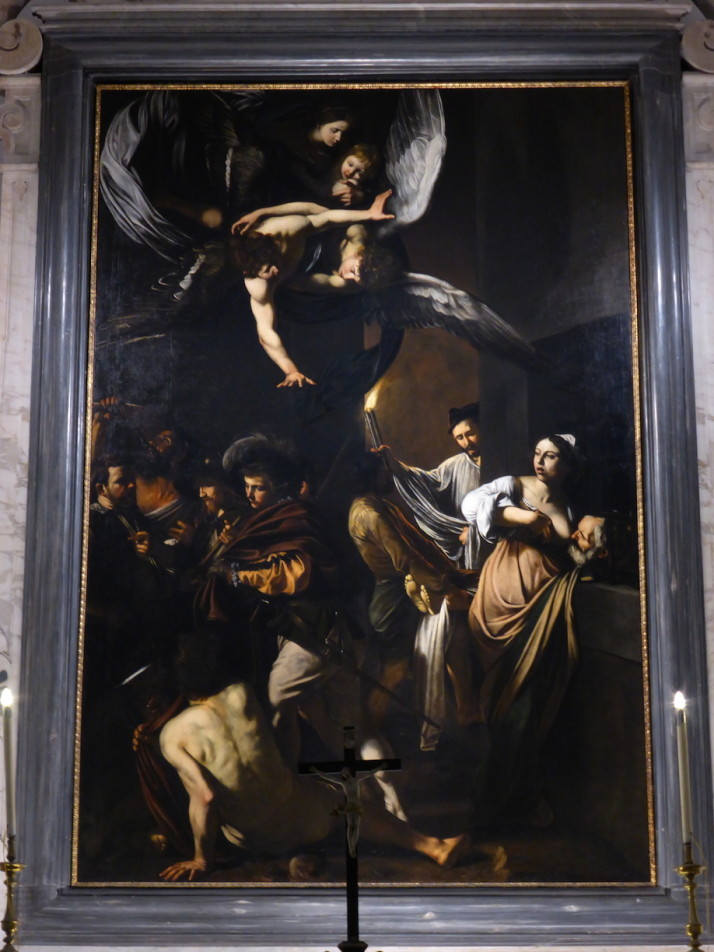 """The Seven Works of Mercy"" by Caravaggio, Pio Monte della Misericordia, Naples, Italy"