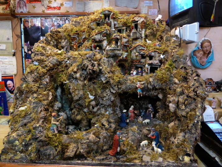 Large Nativity Model, Via San Gregorio Armeno, Naples, Italy
