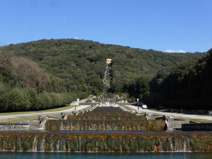 Cascade, Royal Palace of Caserta, Naples, Italy