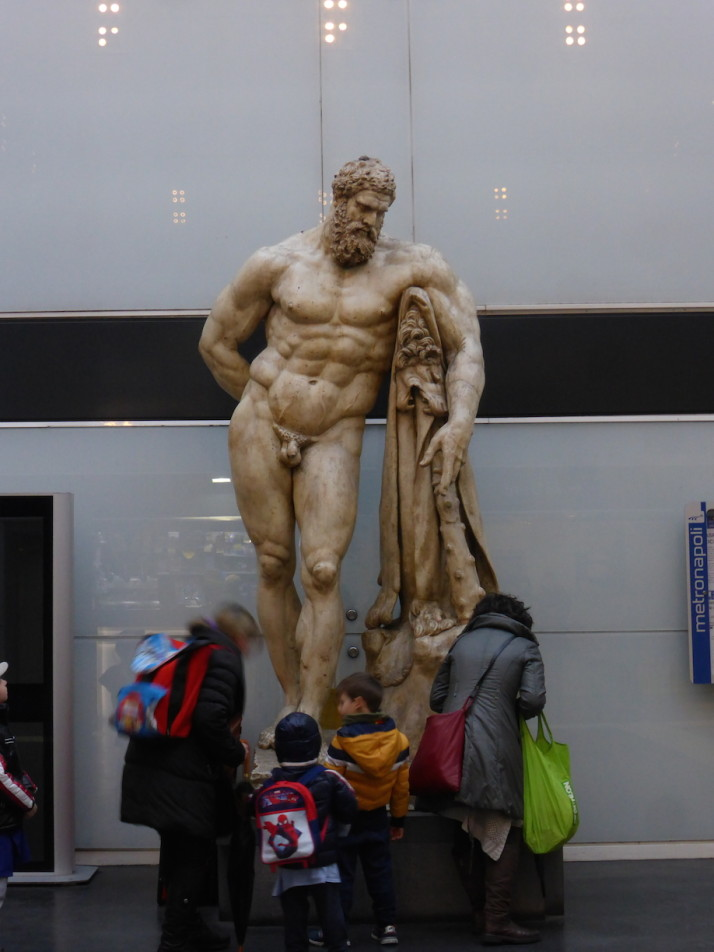 Cast of the Farnese Hercules