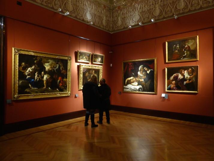 Gallery, Gallerie d'Italia, Palazzo Zevallos Stigliano, Naples, Italy
