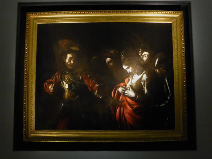 The Martyrdom of Saint Ursula by Caravaggio, Gallerie d'Italia, Palazzo Zevallos Stigliano, Naples, Italy