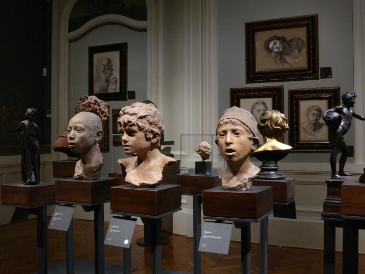 Special exhibit of Vincenzo Gemito, Gallerie d'Italia, Palazzo Zevallos Stigliano, Naples, Italy