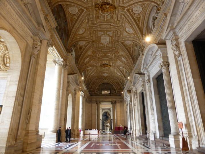 Façade of St. Peter's Basilica, Vatican City