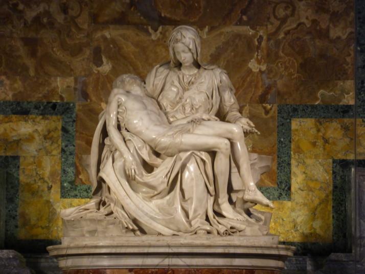 Michelangelo's Pieta, St. Peter's Basilica, Vatican City
