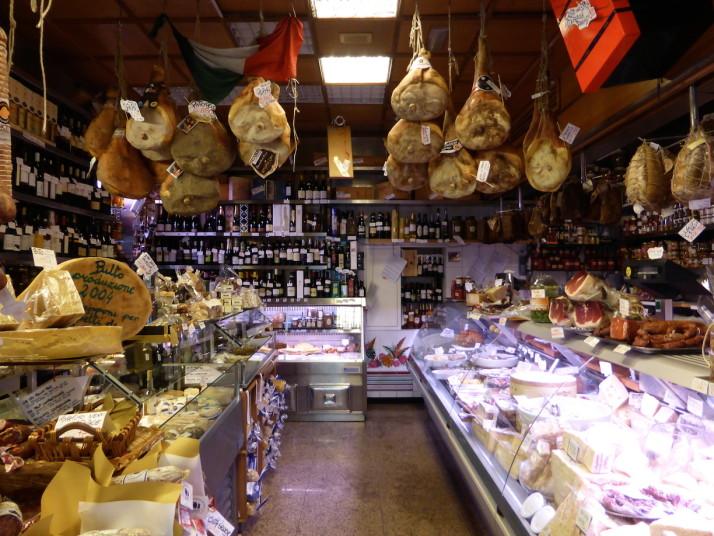 Volpetti's delicatessen, Testaccio, Rome, Italy