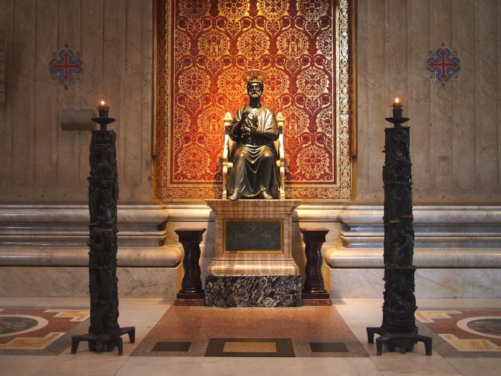 Statue of St. Peter, St. Peter's Basilica, Vatican City