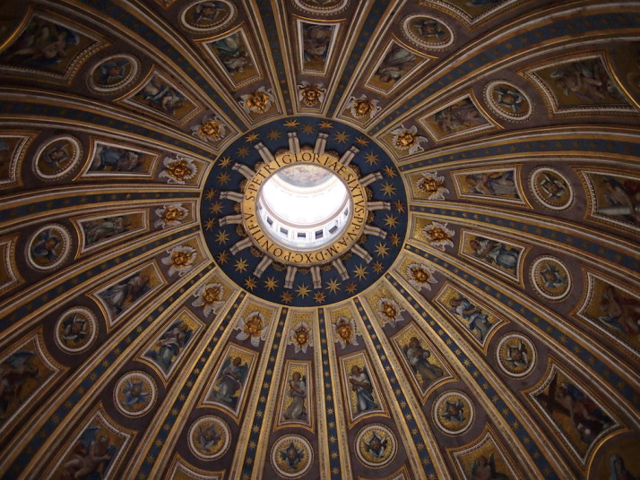 Dome of St Peter's Basilica, Vatican City
