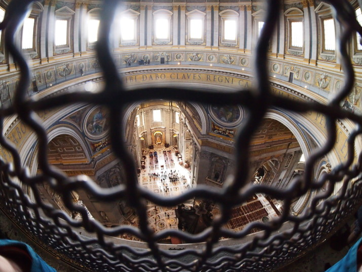 Dome gallery, St Peter's Basilica, Vatican City