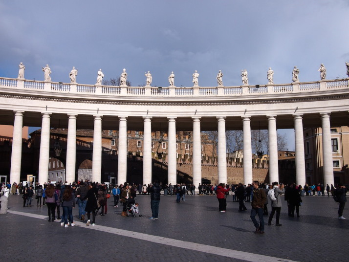 Northern Tuscan colonnade, St Peter's Square, Vatican City