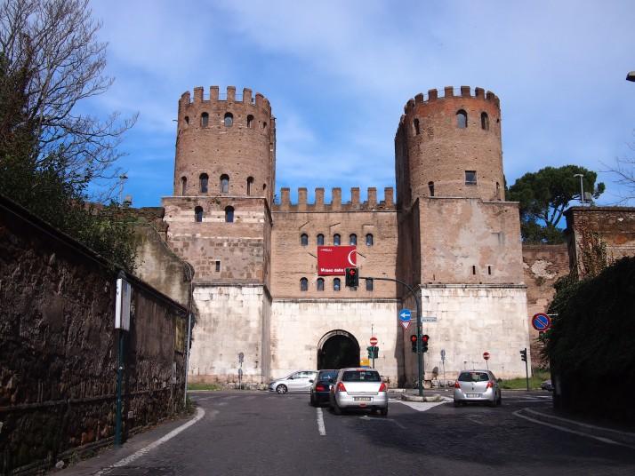 Porta San Sebastiano, Rome