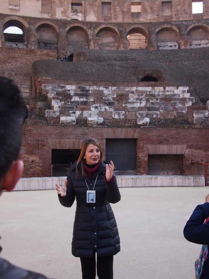 Colosseum tour guide