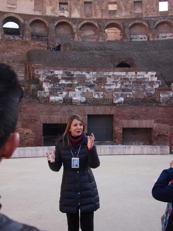 Colosseum tour guide