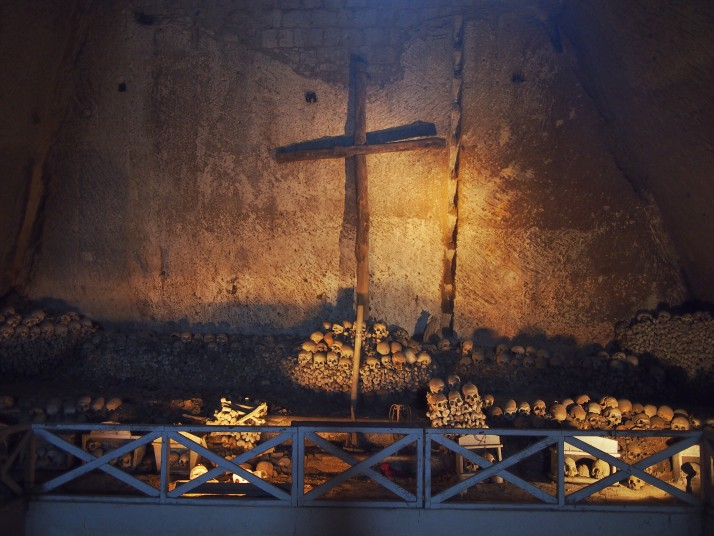 Fontanelle Cemetery cross