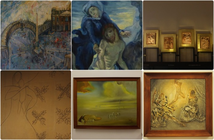 Selection of Contemporary Art, Vatican Museums, Italy
