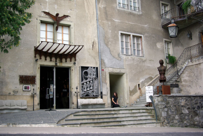 HR Giger Museum, Gruyeres, Switzerland
