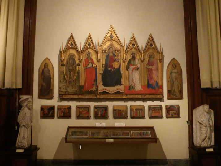 Pinacoteca gallery, Vatican Museums, Italy